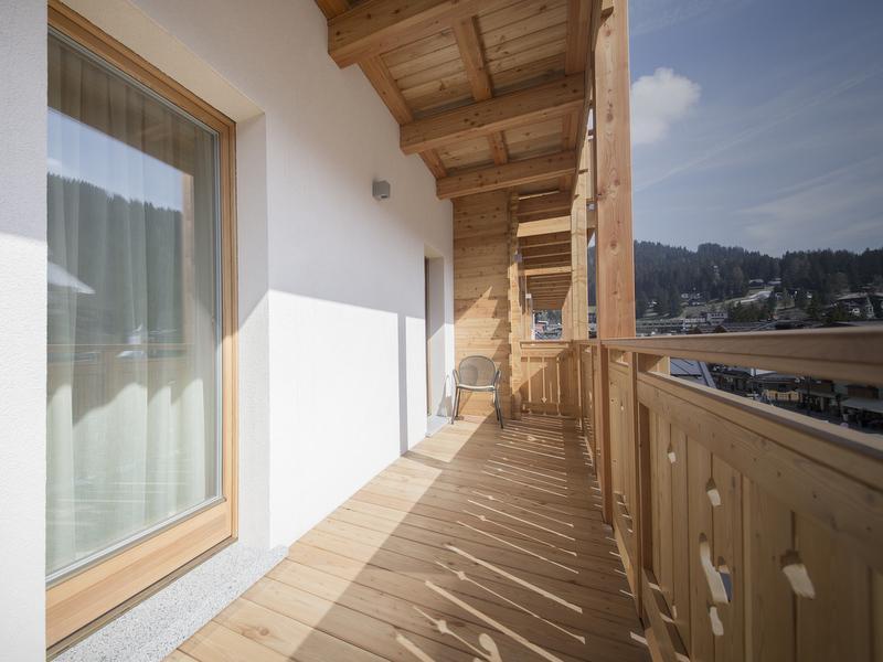 Balconi in legno su misura